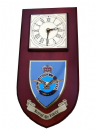 RAF Royal Air Force Regimental Wall Plaque Clock